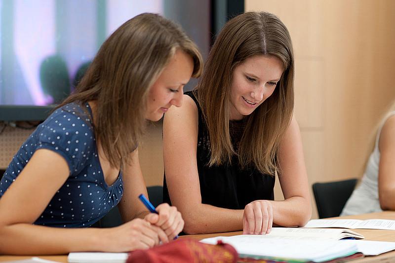 Studierende an der Uni Ulm